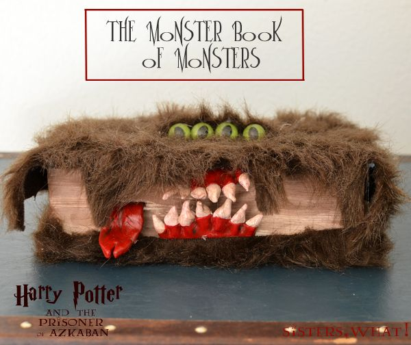 The Monster Book of Monsters - Harry Potter | Sisters, What!