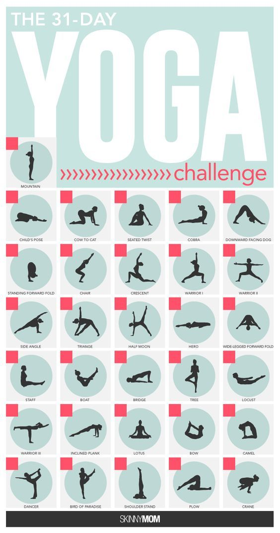 Find your zen with our 31-day yoga challenge!: