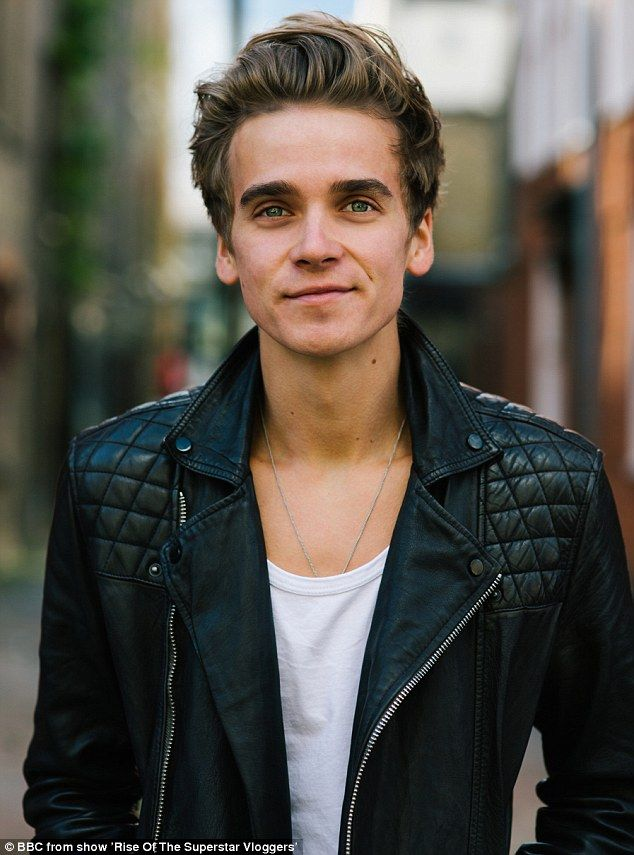 Joe Sugg, Zoe's brother, is also a successful vlogger but said he does feel under pressure to keep producing clips to keep his 5.9m subscribers entertained