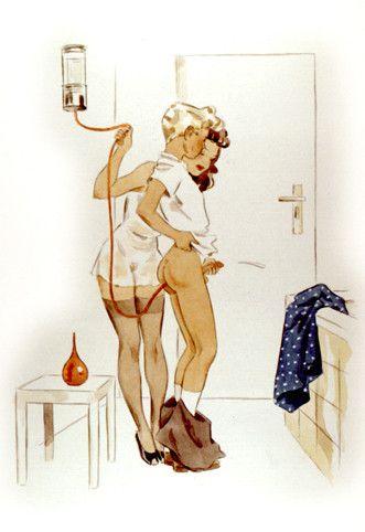 Moms Enema Bathroom Pics 23