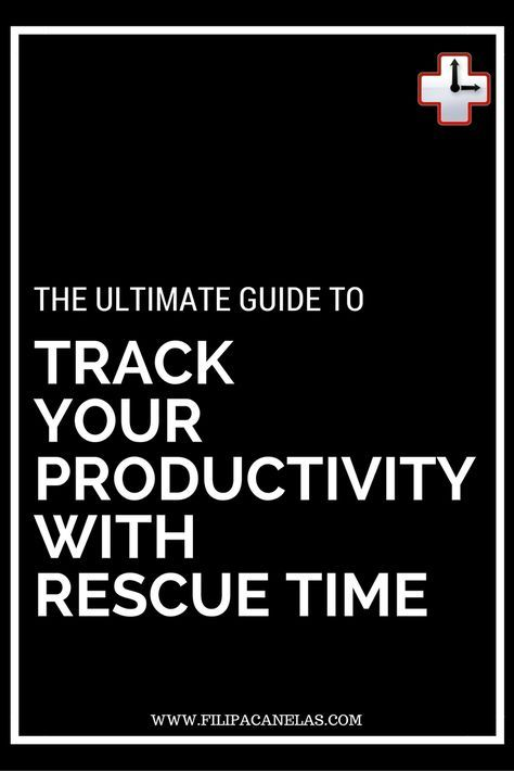 The Ultimate Guide to Track Your Productivity with Rescue Time. Rescue Time is a time management software that let you track the time that you're being productive. It also improves your productivity!