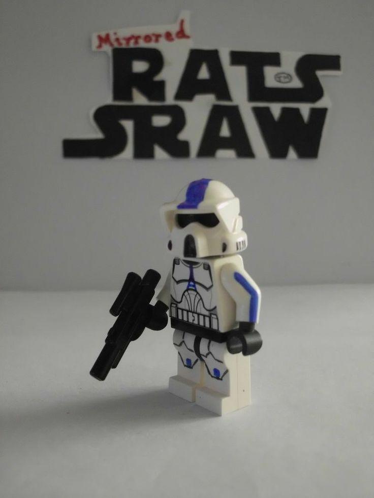 Lego Star Wars minifigures - Clone Custom 501st ARF Trooper