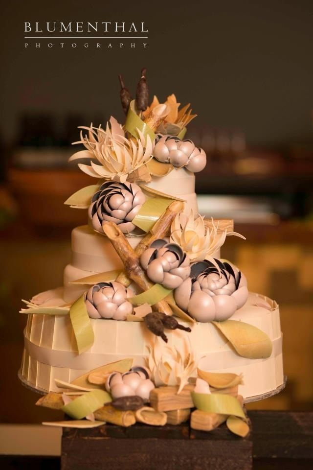 Wedding cake by Chef Adriano Zumbo