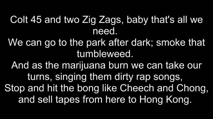 Colt 45 (Crazy Rap) - Afroman Lyrics (HD)  EXPLICIT