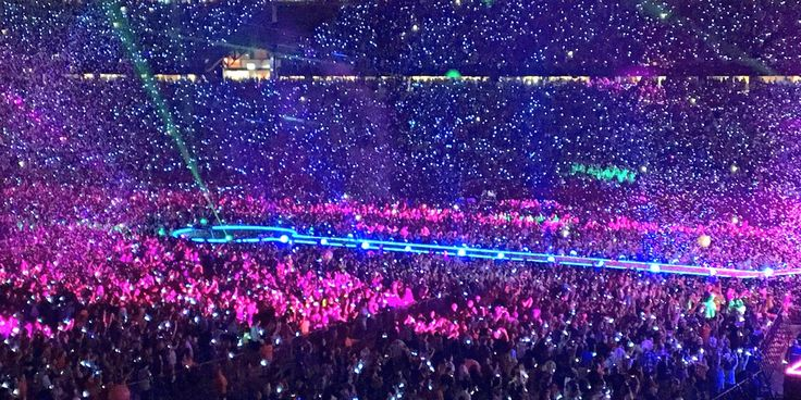 Xylobands - Coldplay Tour 2016