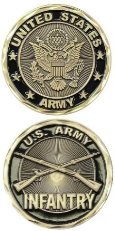 U.S. Army Infantry Challenge Coin