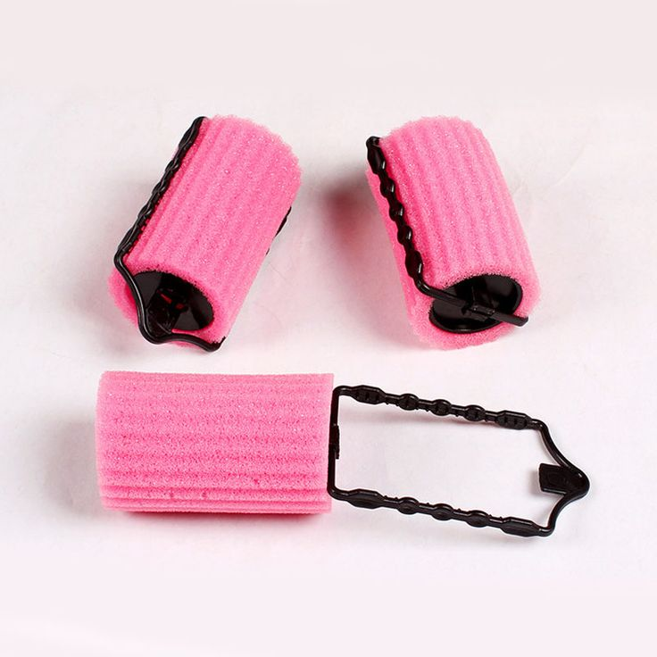 12pcs Large Size Foam Rollers For Hair Styling Tools Girls Sponge Curlers Beauty Salon Hair Curl Roller Hair Curling Machine