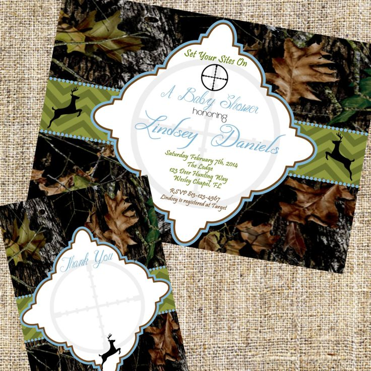 free printable camo baby shower invitations templates%0A Camo Baby Shower Invitation Camo Baby Shower by MerrimentPress