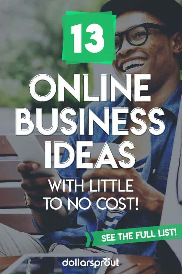 16 Online Business Ideas with Little to No Startup Cost