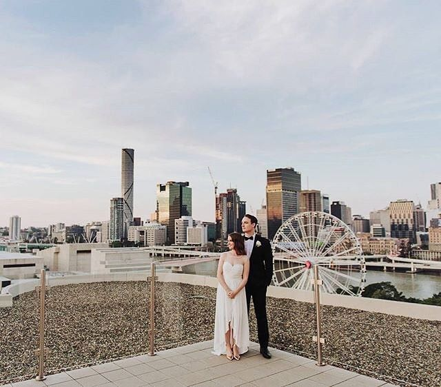 """Feeling on top of the world"" at #Rydges South Bank Brisbane. (: @gabrielveitweddings)"
