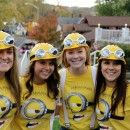 Coolest Despicable Me Minion College Girl's Group Costume