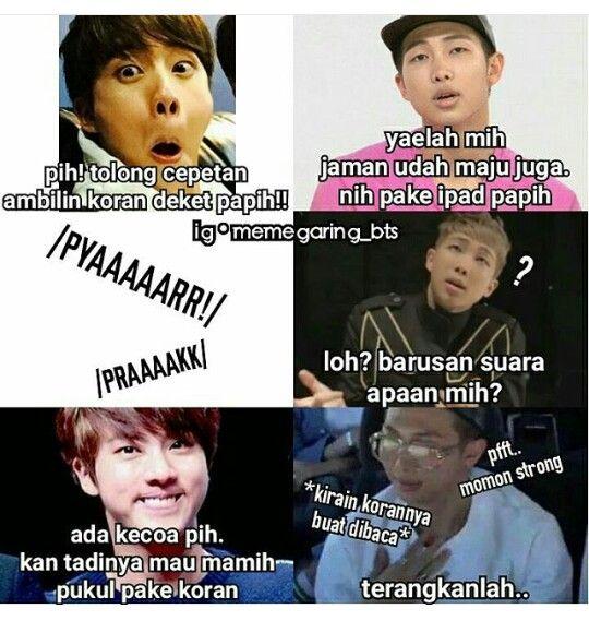 Momon sabar untung binik   #Memes #Funny #Indonesia #BTS