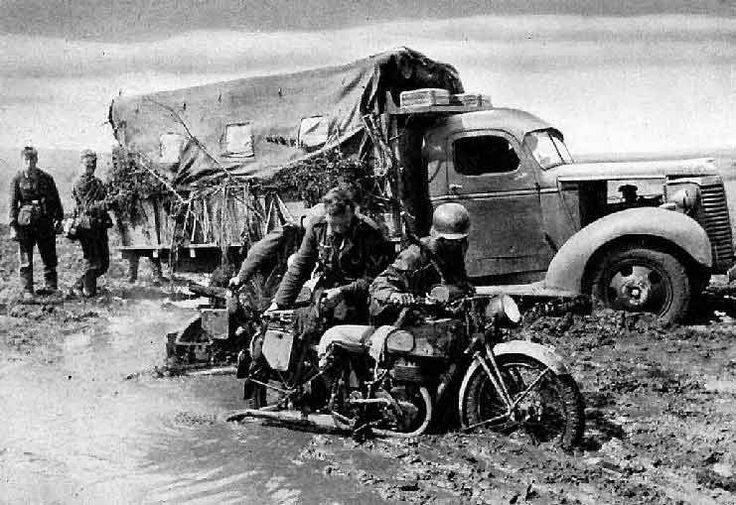 https://flic.kr/p/nMZvoU   Mud was the Germans' worst enemy in Russia   Next to snow, mud was the Germans' worst enemy in Russia.