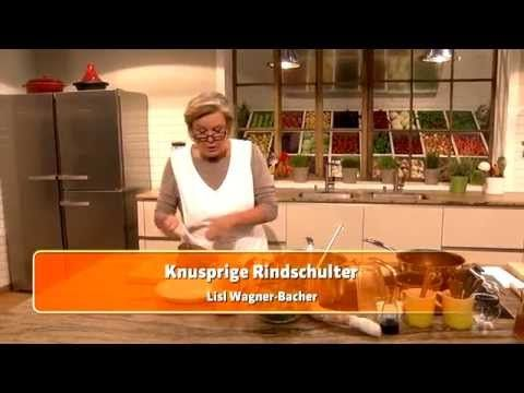 Knusprige Rindschulter (Lisl Wagner-Bacher) - YouTube