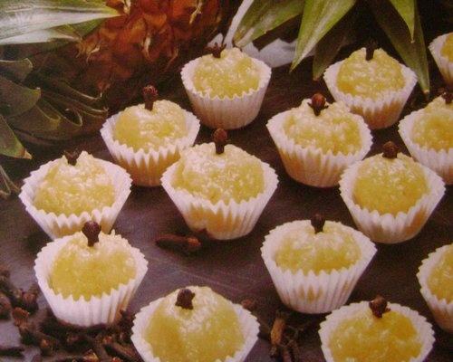receitas de Doces e Sobremesas: docinhos de abacaxi