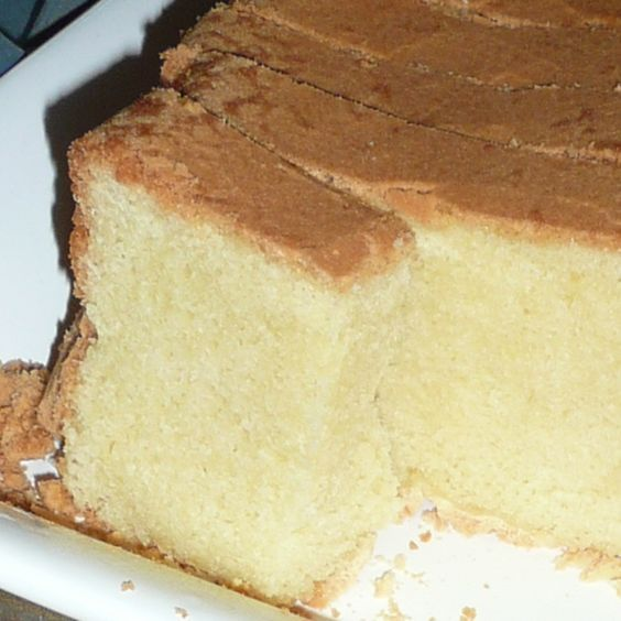 Sour Cream Pound Cake Made With Cake Mix