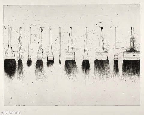 Jim Dine/Five Paintbrushes