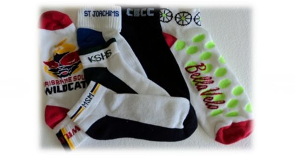 Sockettes - For those that prefer them Queensland Hosiery Mill Sockettes are available plain or with stripes and/or logo. Full Terry Foot is Standard however Non or Half Terry is available on request. Sports Socks are Cotton and Nylon blend (cotton rich – between 60% & 80%) with percentages depend on how much cushioning and size of the logo which is 100% nylon. These Sockettes are available with Elasticised 3 cm leg