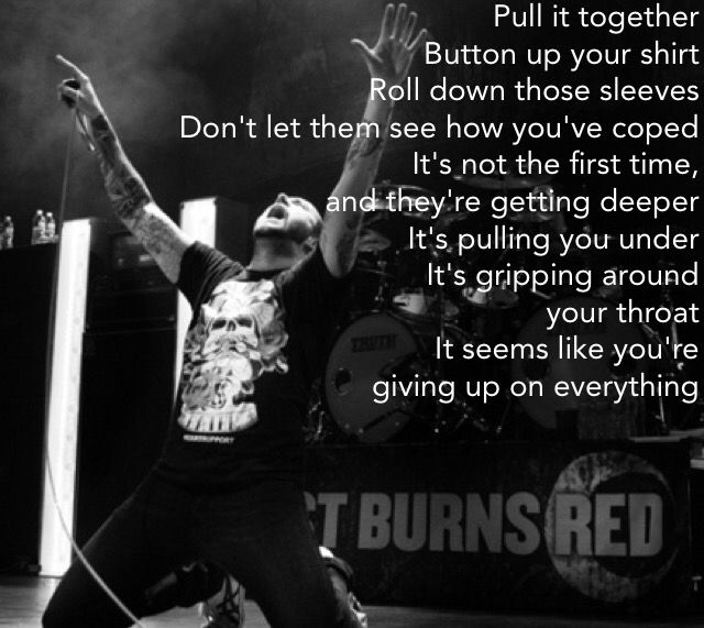 August Burns Red august burns red truth of a liar (lyrics ...