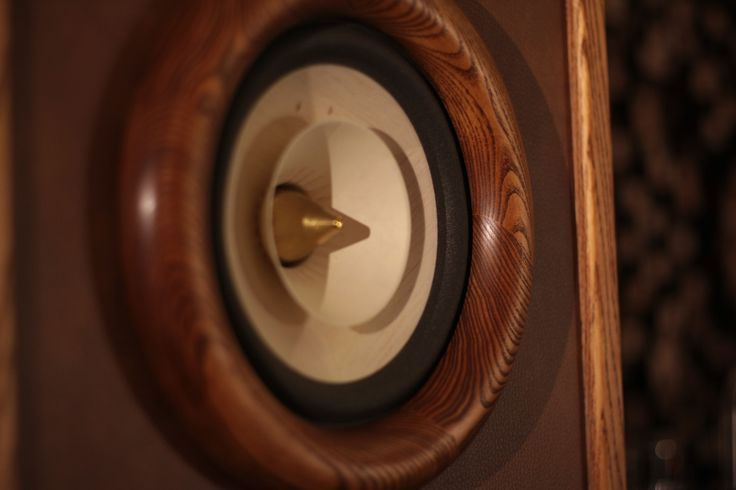 Voxativ AC1.8 wooden in Evolution RDacoustic speakers