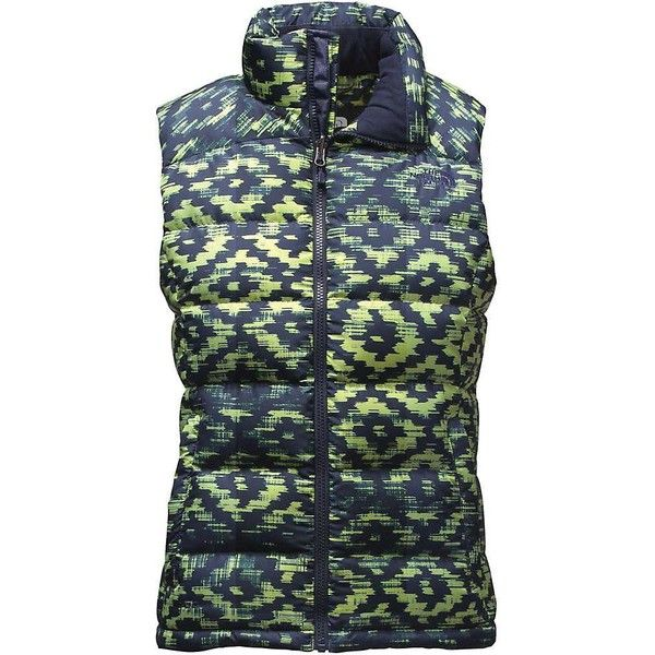 The North Face Women's Nuptse 2 Vest ($149) ❤ liked on Polyvore featuring outerwear, vests, pocket vest, the north face, waist cincher vest, cinch vest and insulated vest