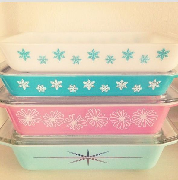 I'm collecting old vintage Pyrex