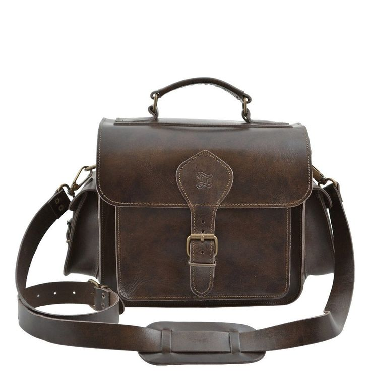 Leather Camera Bag(brown)