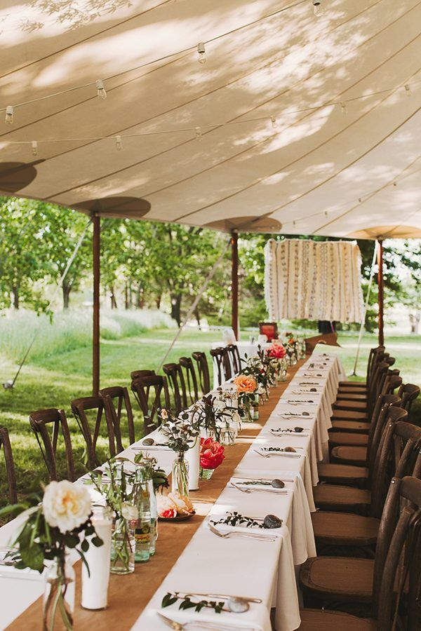 Bohemian Wedding Under a Circus Tent (With images) Tent