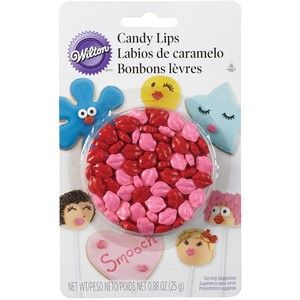 Wilton 710-1356 Candy Lips Blister Pack