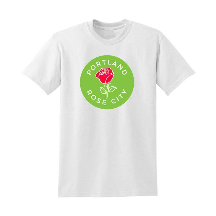 "Portland ""Rose City"" Shirt  - Portland Oregon Tee - Portland Love Shirt  #portland  #basictee"