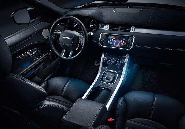 2016 Land Rover Range Rover Evoque - interior front