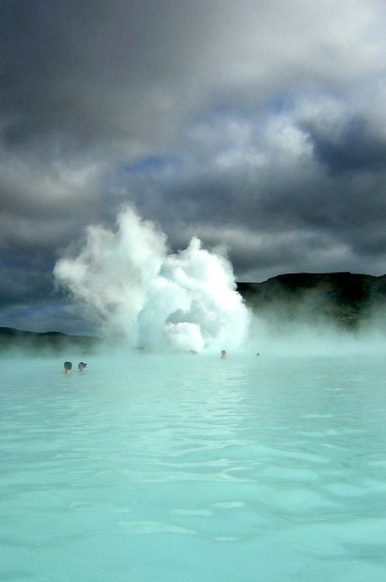 Blue Lagoon Geothermal Spa, Iceland /