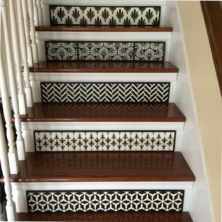 High Quality Specializing In Quality, Custom Stair Risers. By TributeDesigns