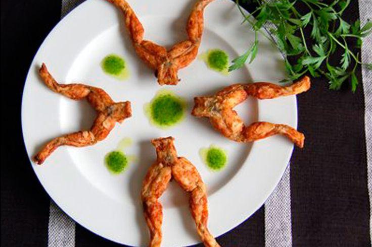 #comida #food #foodporn #gourmet #atlete #cyclist #locales #Extremadura Ancas de rana.