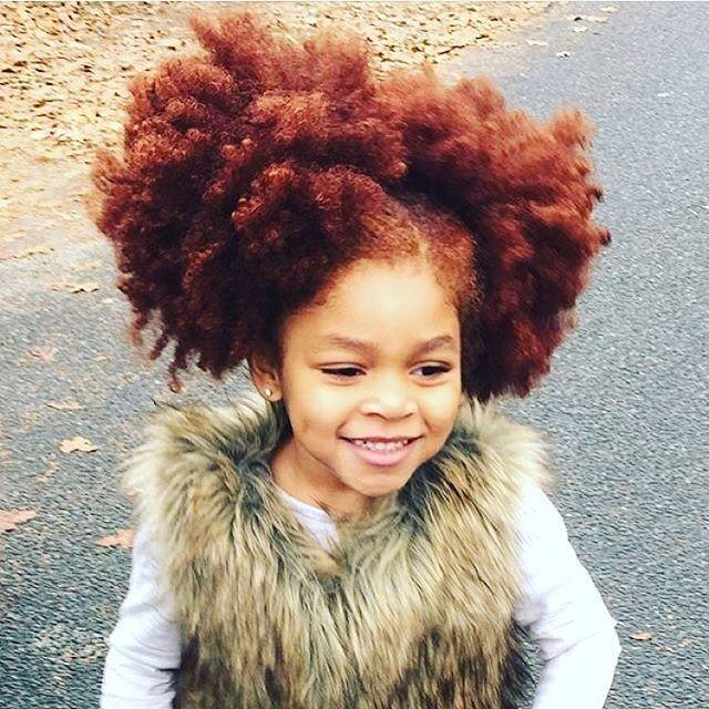 Gorgeous redhead @redlilmissy #naturalhair #kidshair #redhead