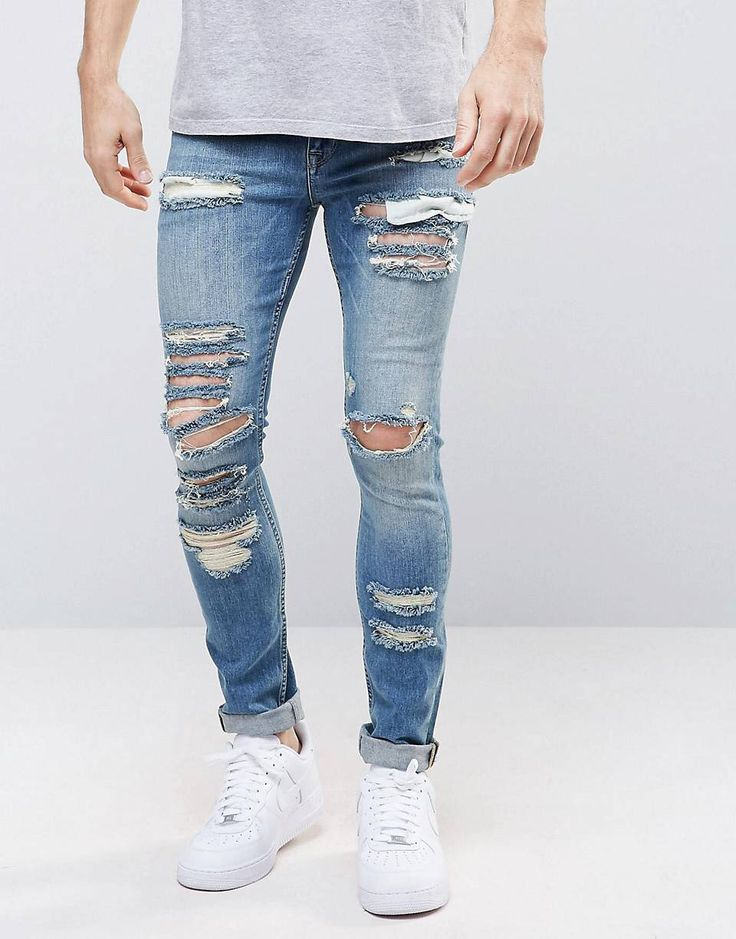 10 ideas about ripped jeans men on pinterest mens