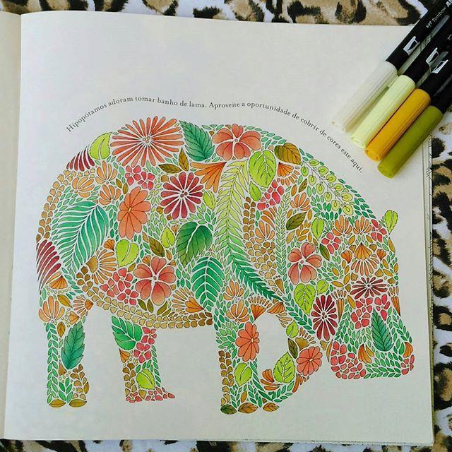 Artecomoterapia Arte Como Terapia On Instagram Coloring BooksAdult ColoringColouringAnimal KingdomArt
