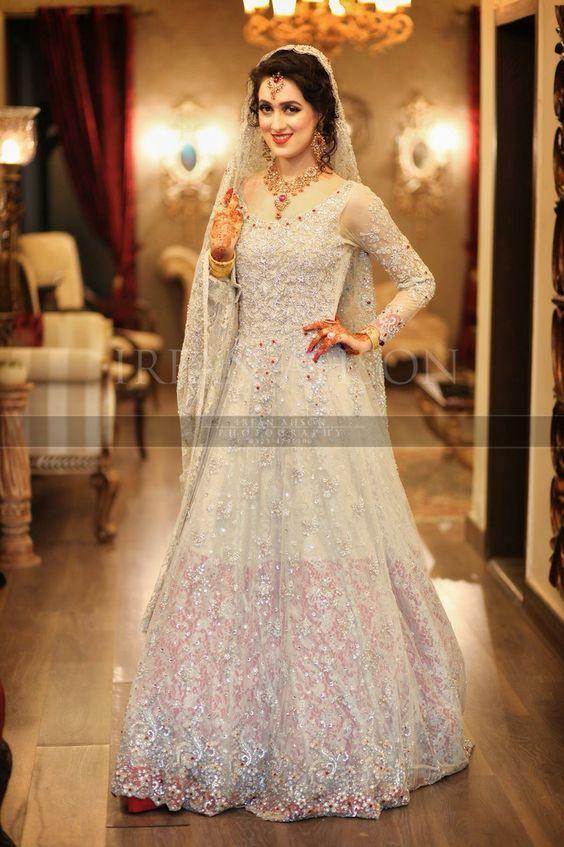 Latest Bridal Engagement Dresses Designs 2016-2017 Collection   StylesGap.com