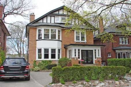 Exceptional Grande Dame! One Of High Parks' Finest Streets & Most Renovated & Functional Properties. Impeccable Rich Wood Trim, Stained Glass & Lead Windows, French Doors. Amazing Kitchen: High End Appliances, Granite, Heated Limestone Flrs. Family Room O/L's Backyard. Private Home Office. L/L Full 2 Bdrm Suite: Sunken Liv/Rm. Master: W/I Clst & 3 Pc. Great 3rd Flr Nanny's Suite W/Deck. East/West Exposure. Your Quintessential 'High Park' Lifestyle Awaits!