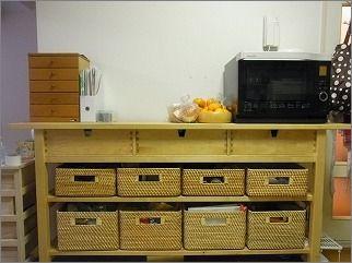 整理収納サービス実例その38(キッチン周辺) : 片付けたくなる部屋づくり