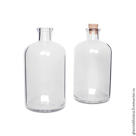 Графин Кинг 1л. стеклянные бутылки. стеклянные банки. Интернет-магазин ГЛАВСТЕКЛОТАРА (Андрей)