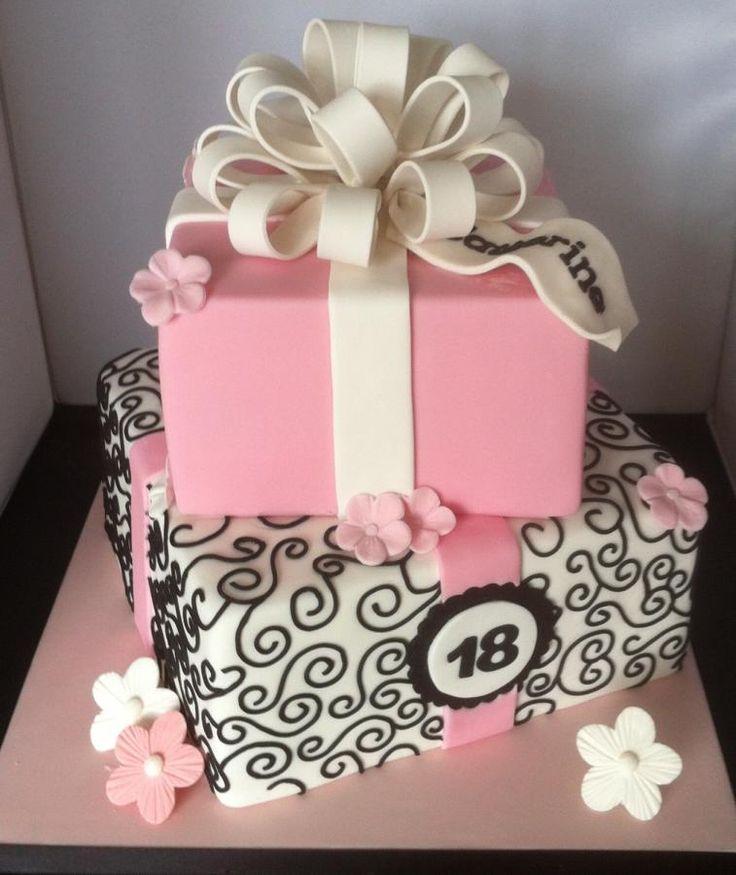 Katherine's 18th birthday cake - Cake by Mulberry Cake Design