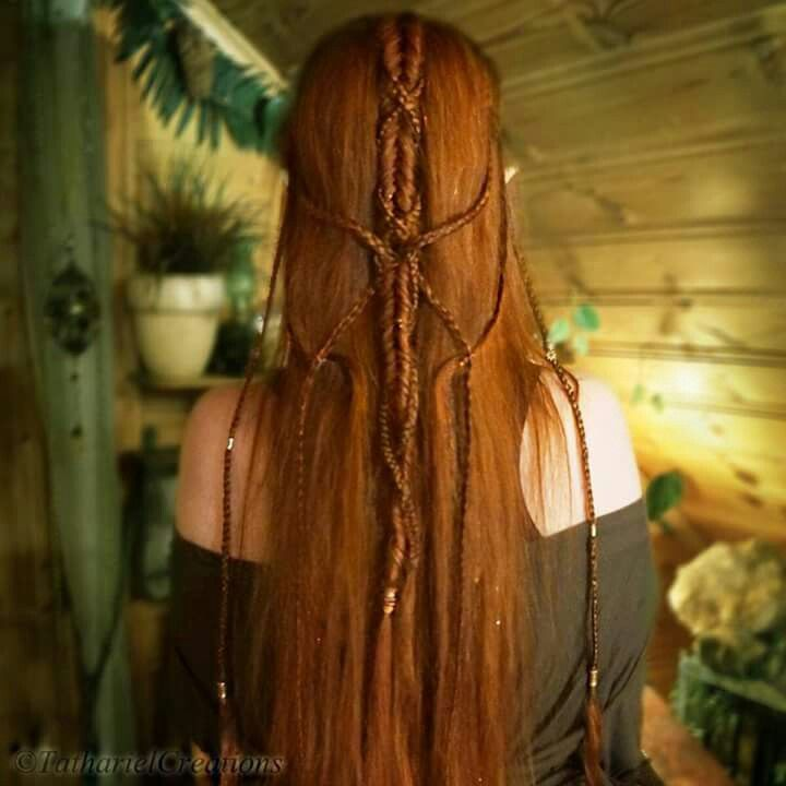 Awesome Elven Hairstyle by Tathariel... totally in loooove!!!!
