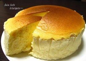 手軽に*スフレチーズケーキ