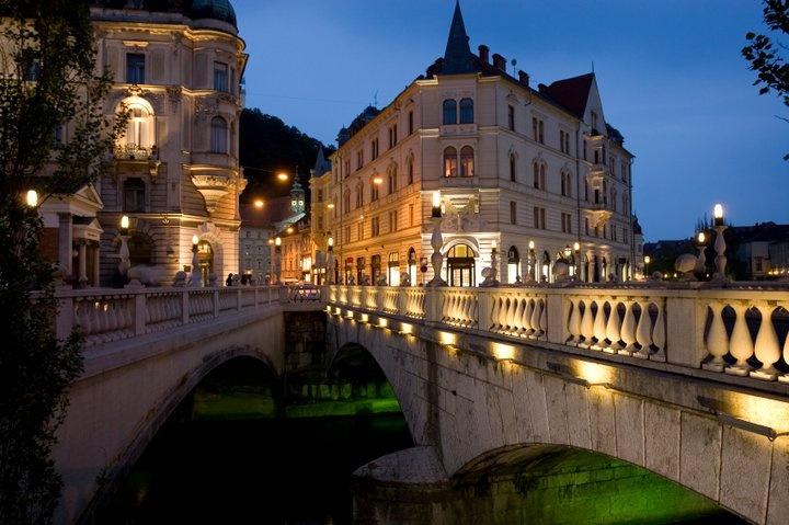 Liubliana capital da Eslovênia