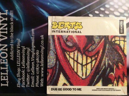 "Beats International Dub Be Good To Me 12"" Single Vinyl GODXR39 Dance Pop 90's Music:Records:12'' Singles:Dance:Big Beat"