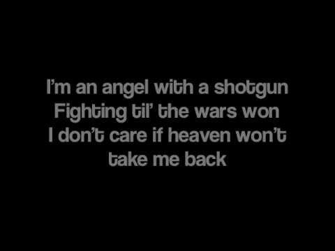 "My new favorite song!!!!!!!!!! Totally fits as a theme song for Jace Wayland in The Mortal Instruments!!! "" Angel With A Shotgun"" by The Can"