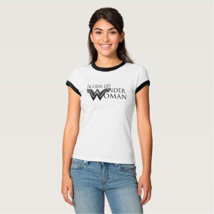 Real life Wander Woman T-shirt - fun gifts funny diy customize personal