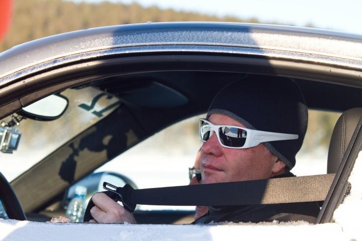 One the lake Porsche Camp 4S Ivalo Finland
