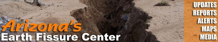 Arizona Earth Fissure Center | Arizona Geological Survey